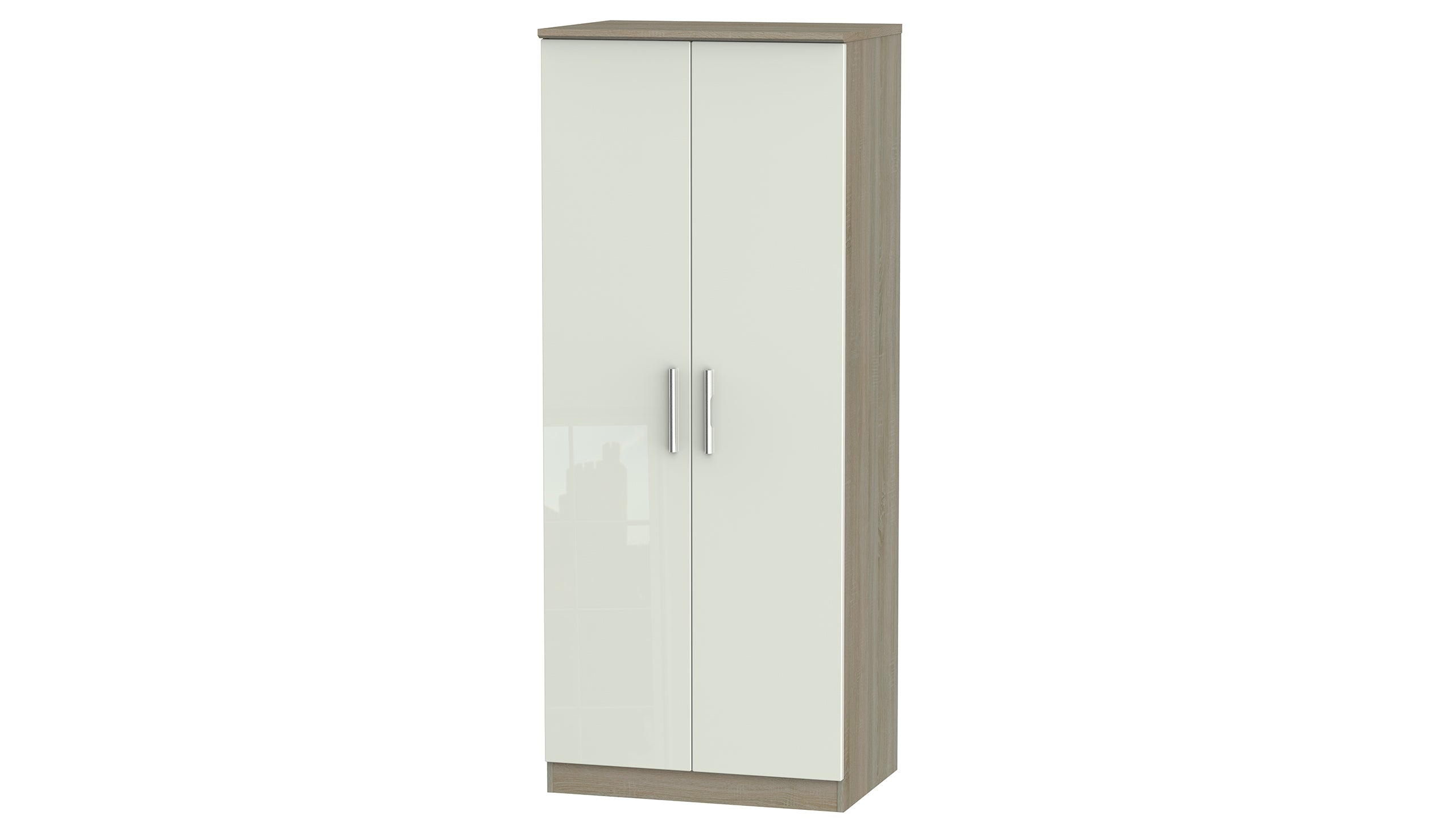 Burnham double wardrobe - AHF Furniture & Carpets