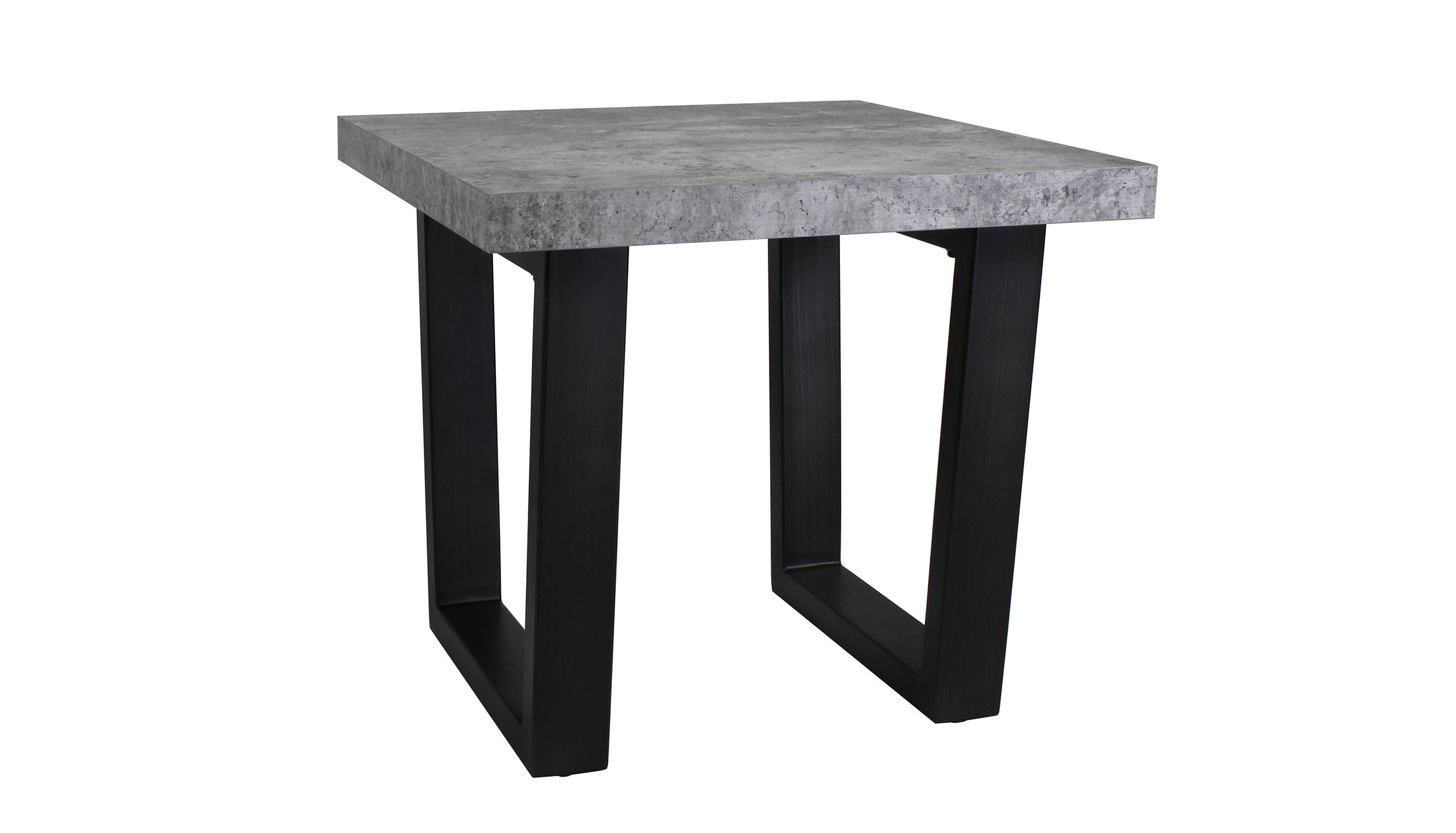 Brooklyn Concrete Side Table - AHF Furniture & Carpets