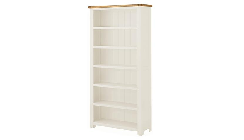 Arlington Two Tone Large Bookcase - AHF Furniture & Carpets