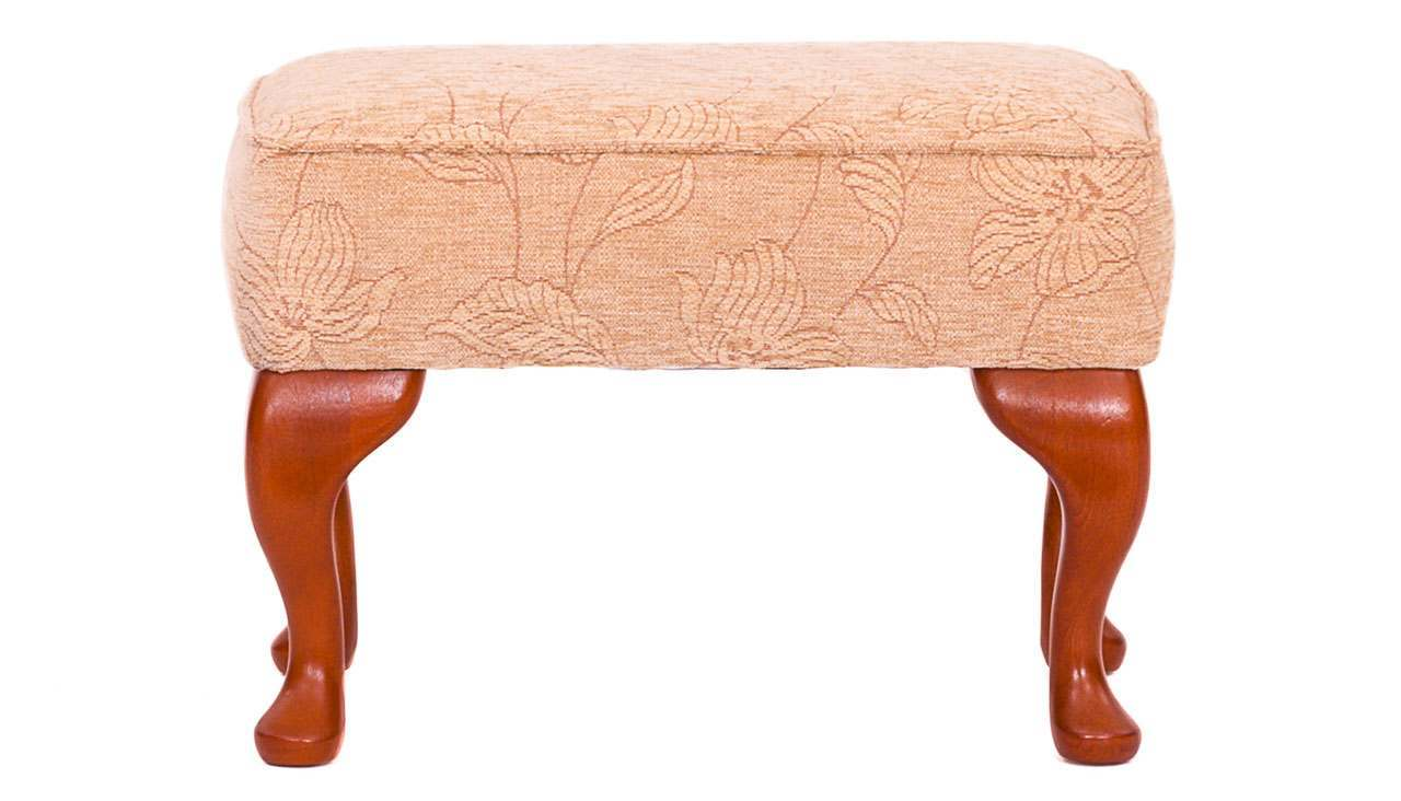 Celebrity Woburn legged footstool - AHF Furniture & Carpets