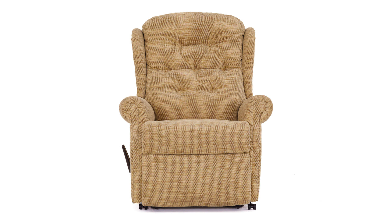 Celebrity Woburn single motor power recliner Chair with buttons