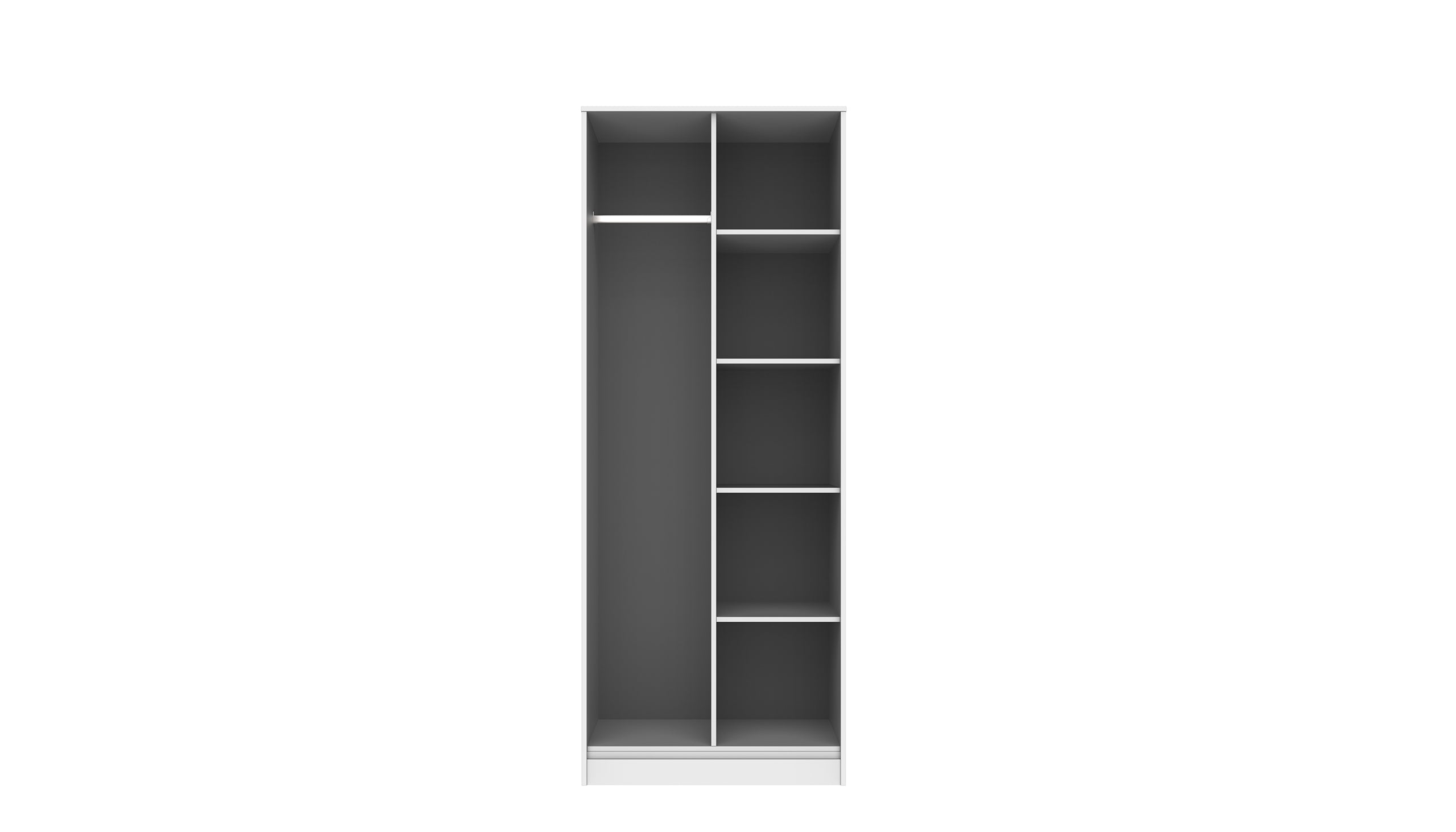 Luna Open Shelf Wardrobe