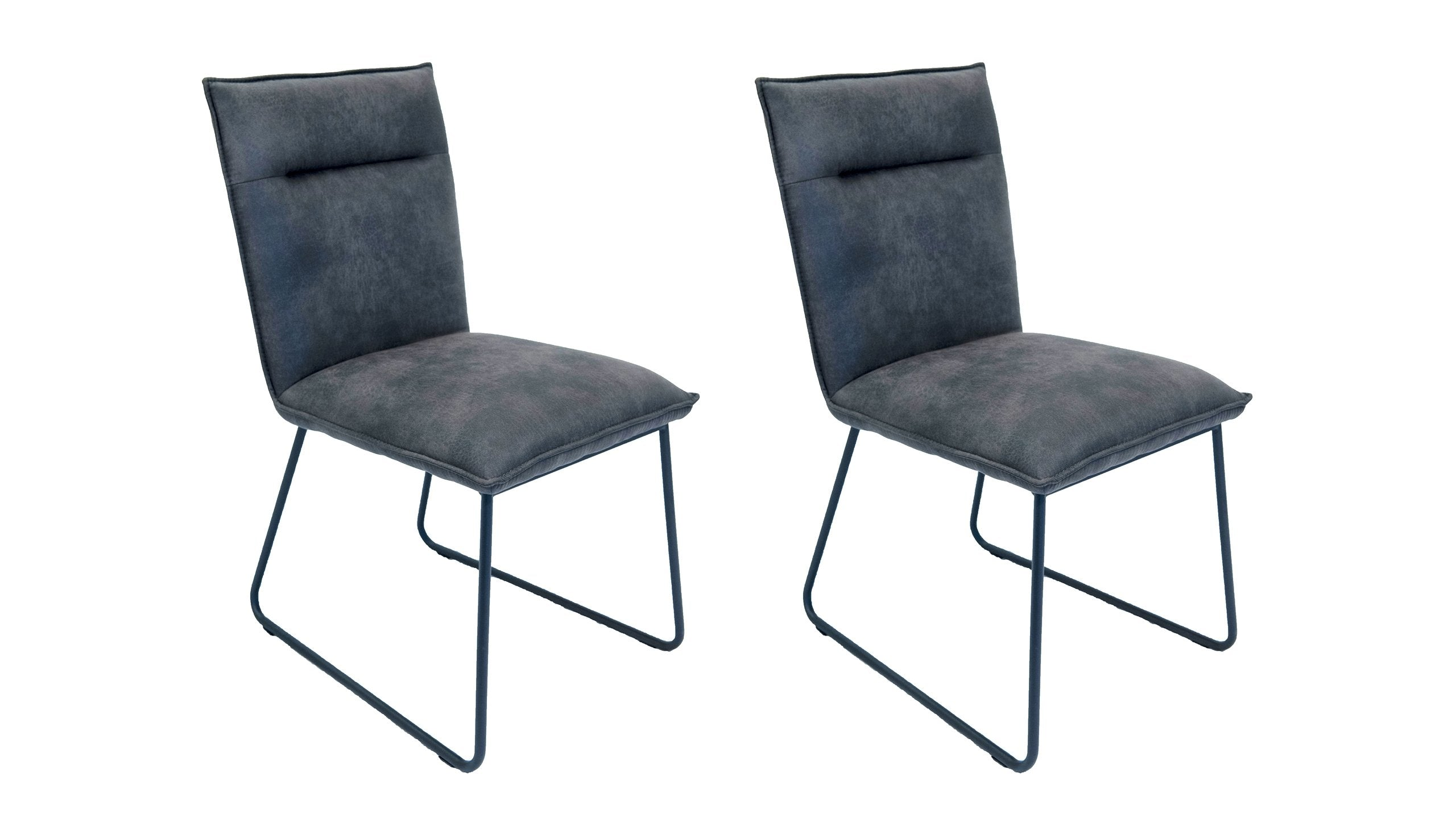 Metro Pair of Dining Chairs - AHF Furniture & Carpets