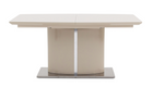 Osaka Cream Extending Dining Table with 4 Chairs - AHF Furniture & Carpets