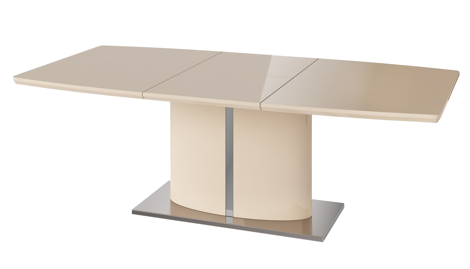 Osaka Cream Extending Dining Table - AHF Furniture & Carpets