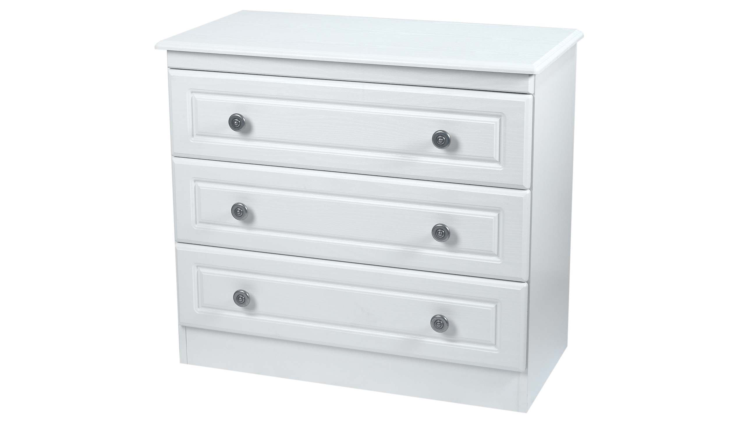 Pembroke 3 drawer chest - AHF Furniture & Carpets