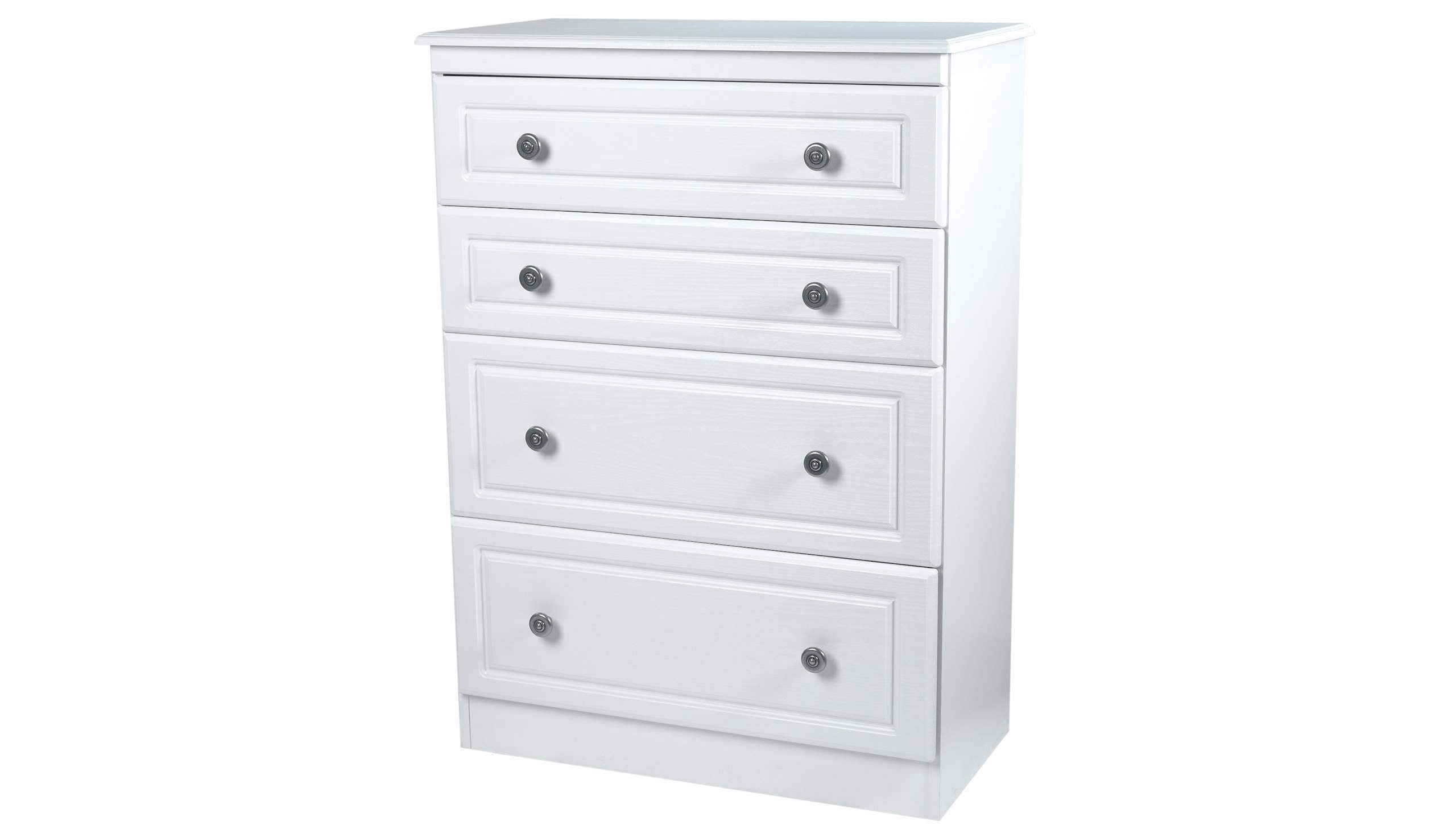 Pembroke 4 drawer deep chest - AHF Furniture & Carpets