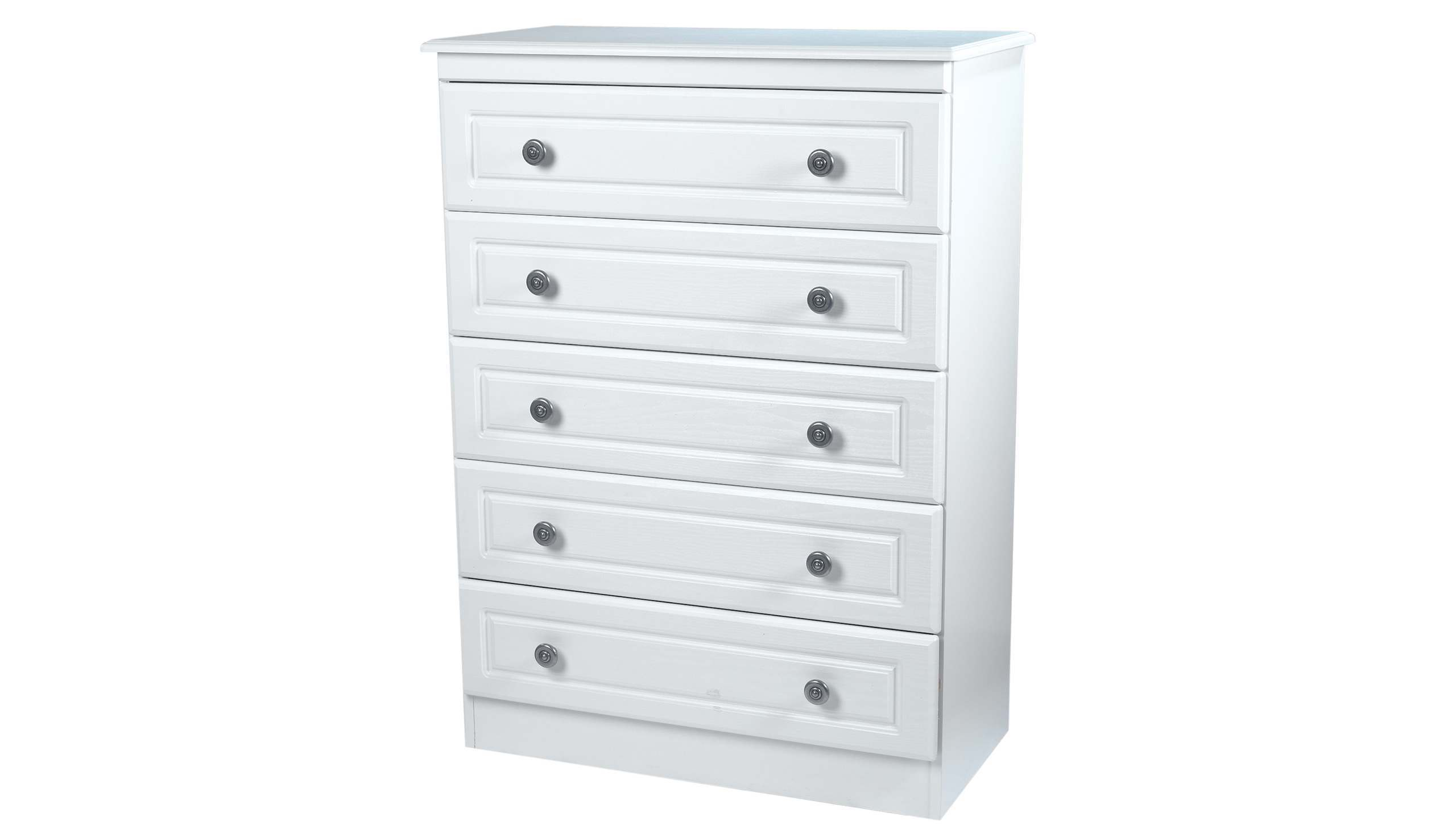 Pembroke 5 drawer chest - AHF Furniture & Carpets