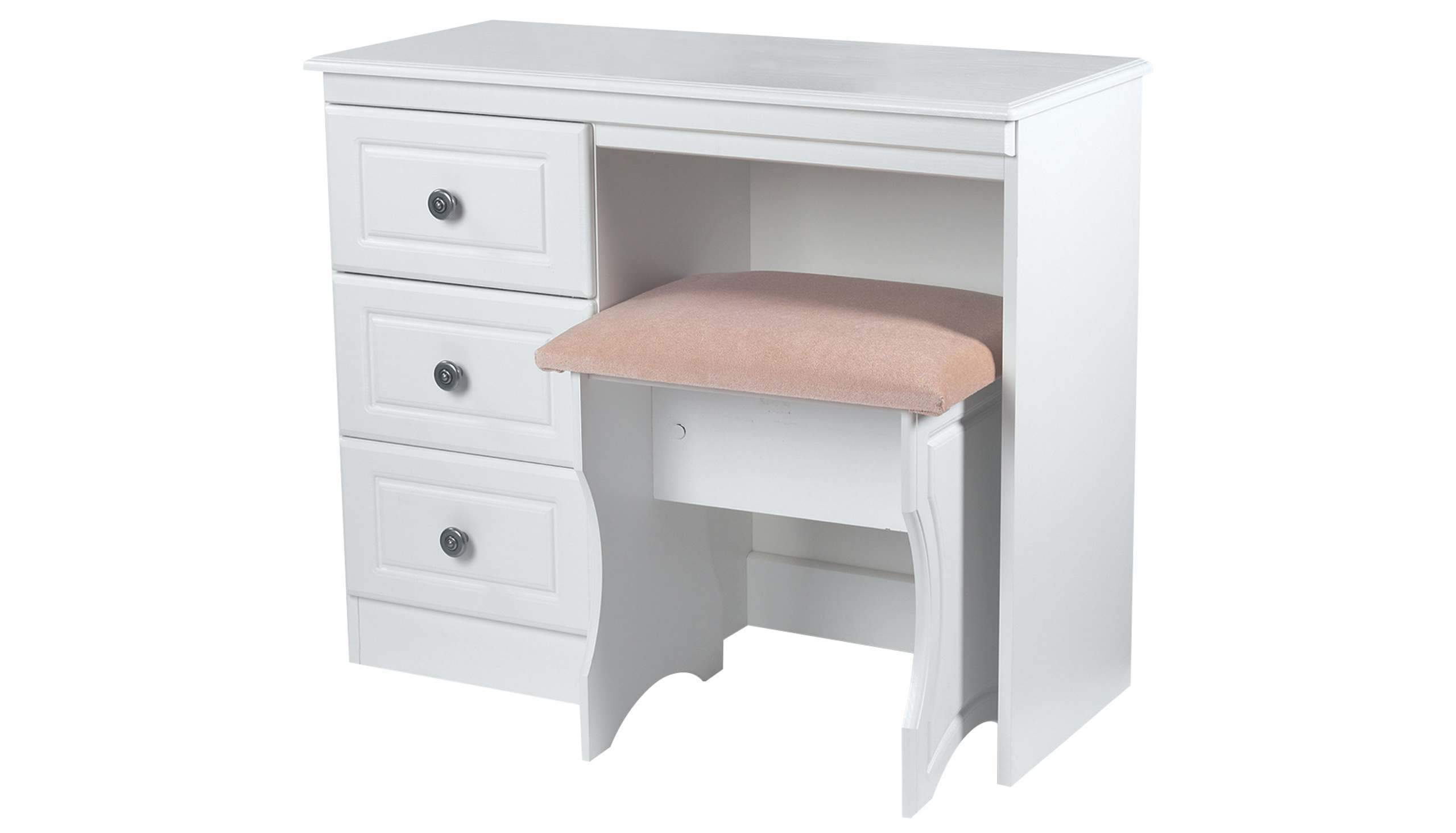 Pembroke 3 drawer vanity unit - AHF Furniture & Carpets