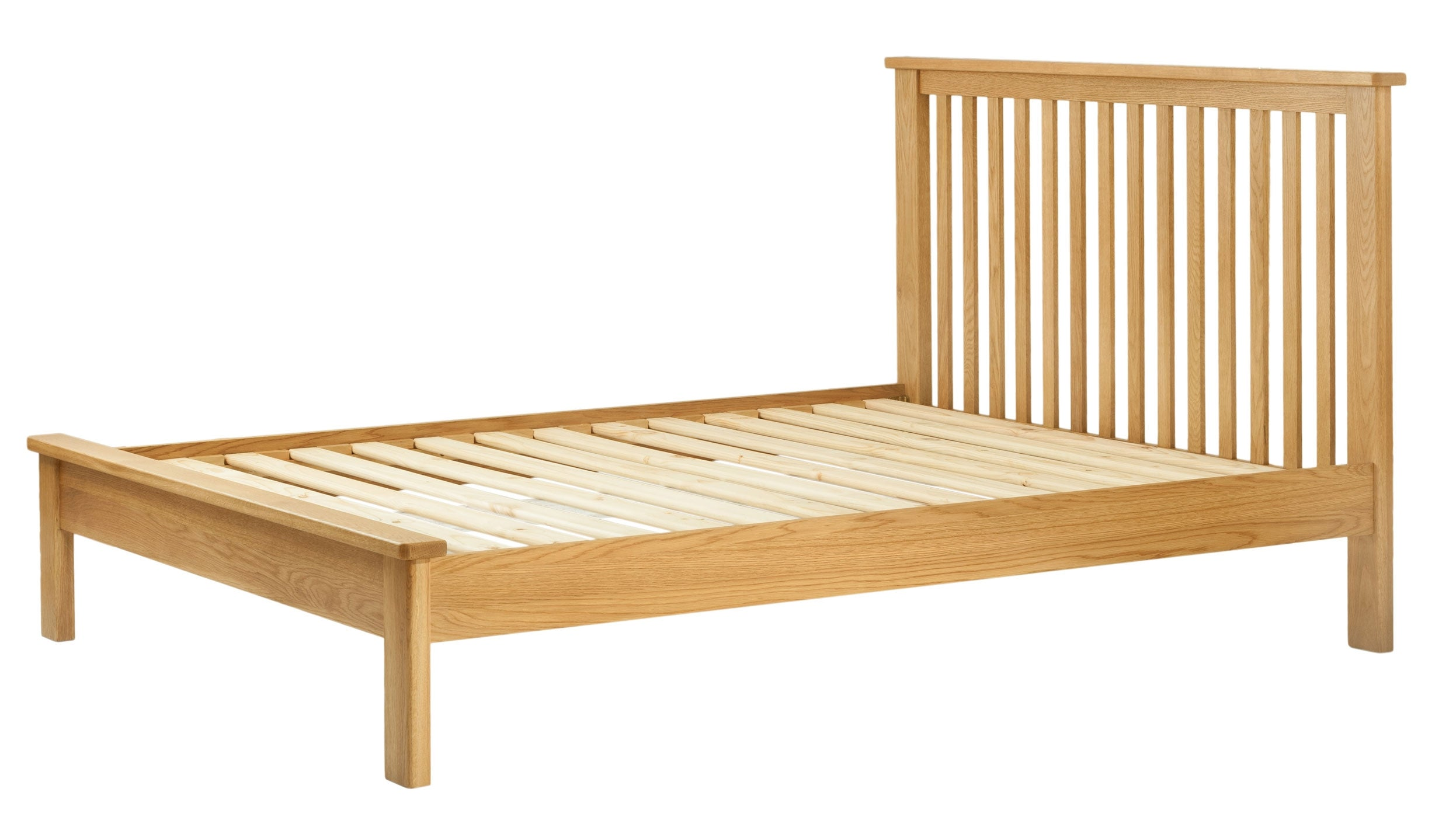 Arlington Oak Bed Frame - AHF Furniture & Carpets