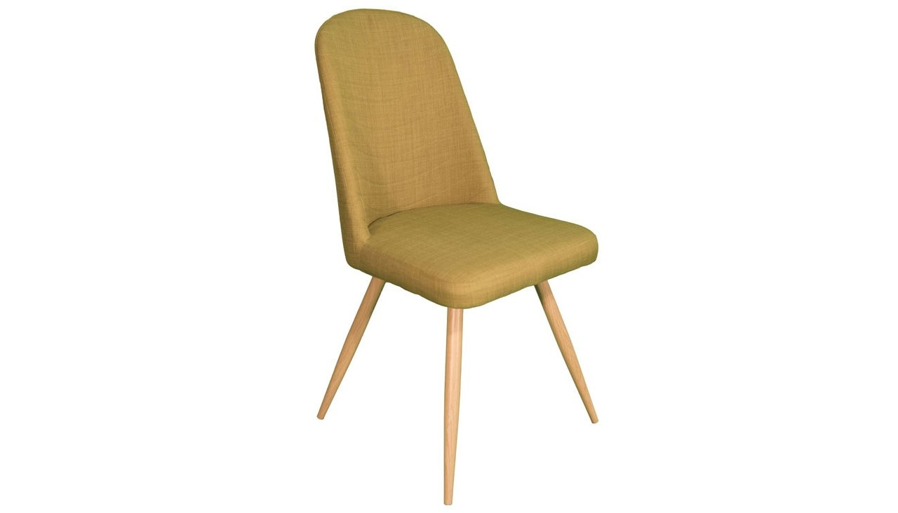Reya Dining Chair in Green - AHF Furniture & Carpets