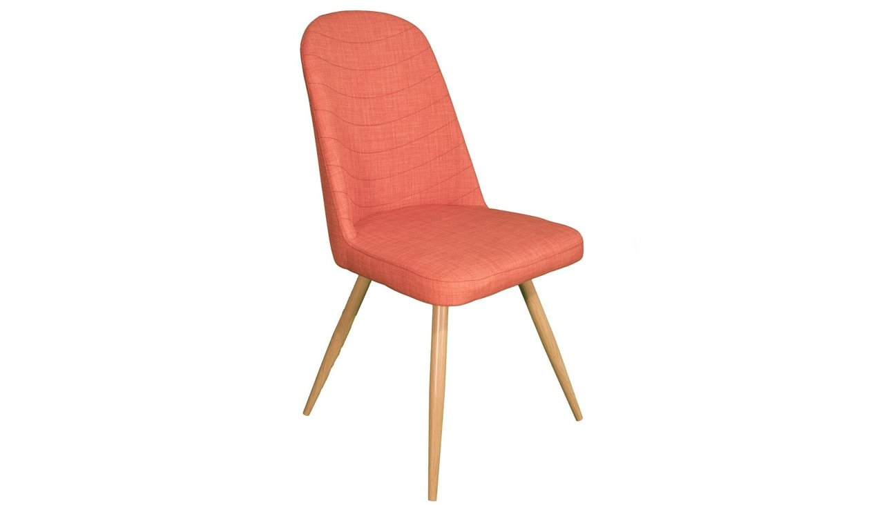 Reya Dining Chair in Orange
