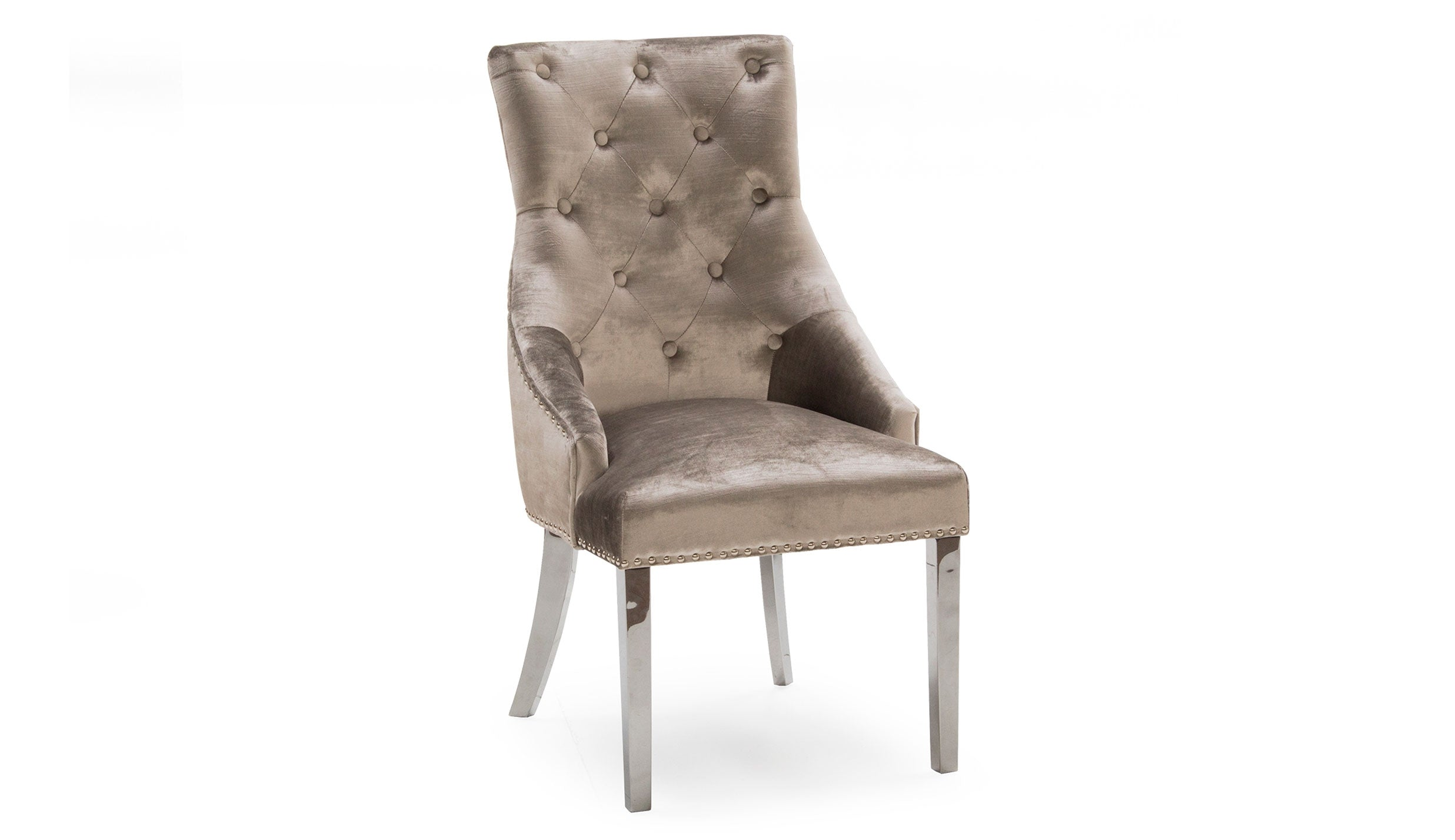 Romance Champagne Dining Chair - AHF Furniture & Carpets