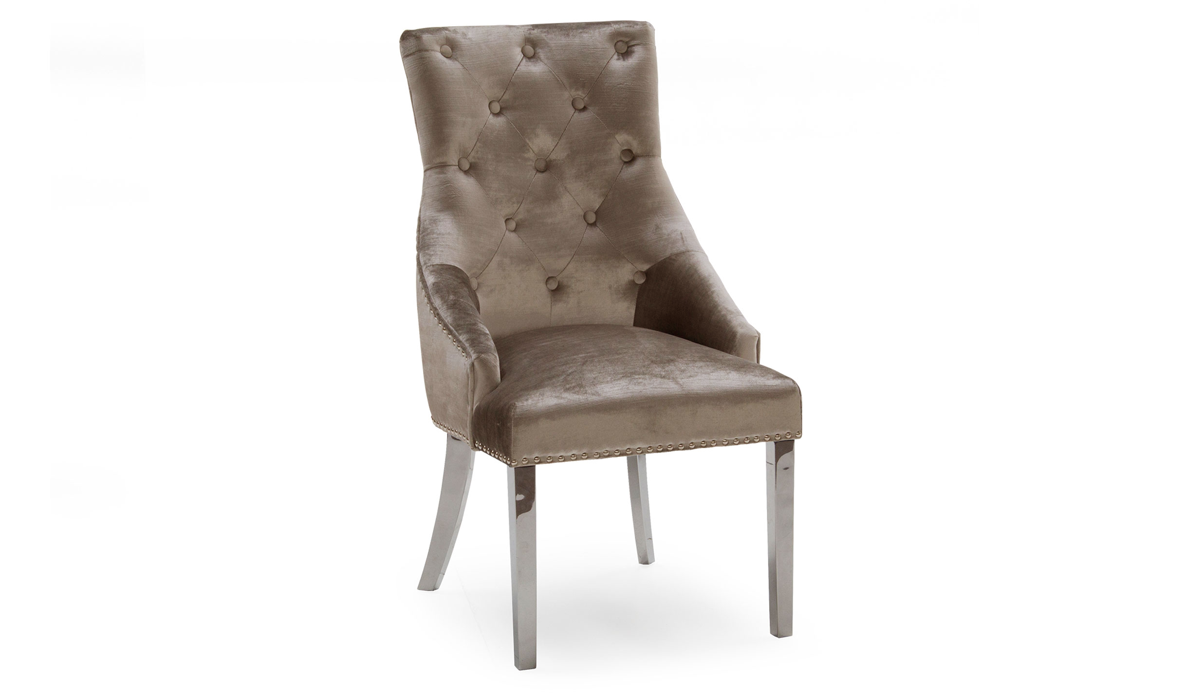 Amour Champagne Dining Chair - AHF Furniture & Carpets