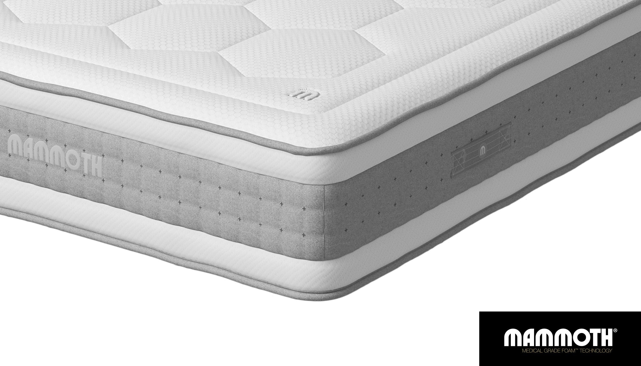 Mammoth Shine Pocket 3000 Mattress - AHF Furniture & Carpets