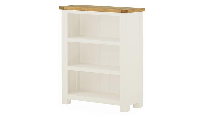 Arlington Two Tone Small Bookcase - AHF Furniture & Carpets