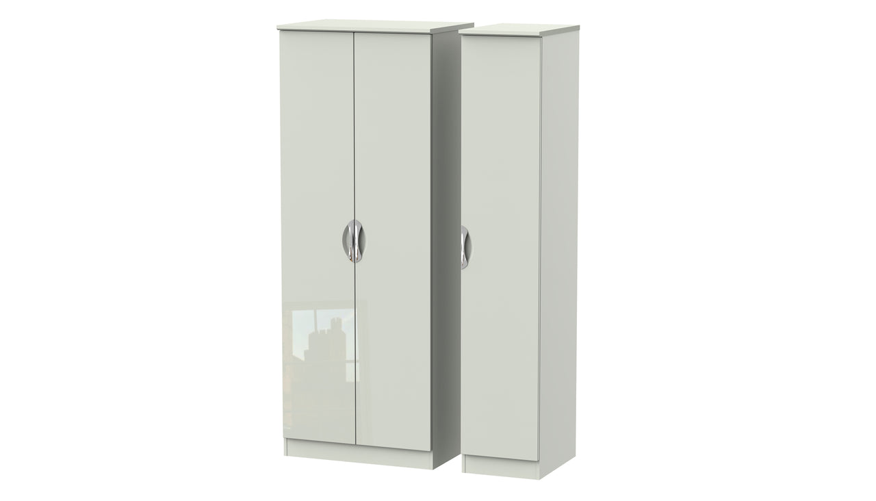 Moda Tall 3 Door Wardrobe