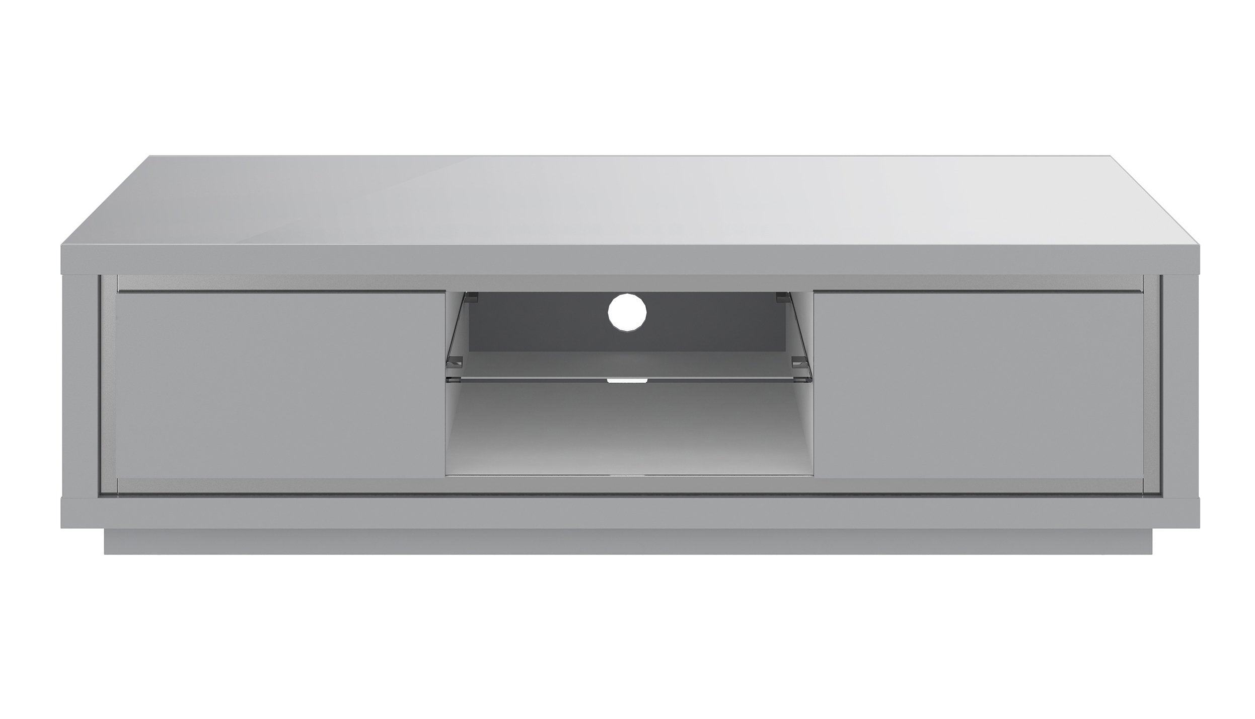 Kyoto Grey TV Unit with LED - AHF Furniture & Carpets