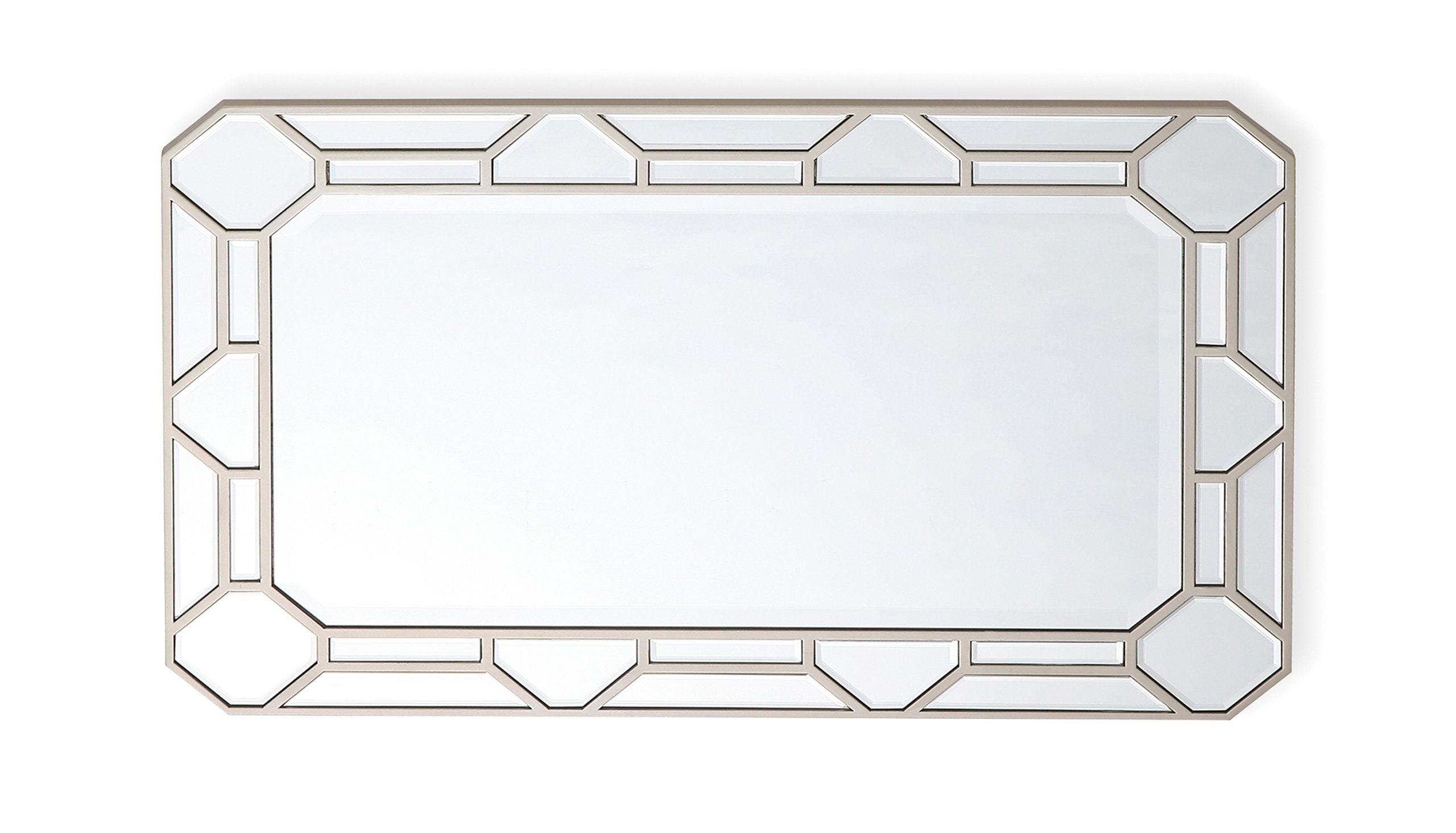 Valentine Rectangular Mirror - AHF Furniture & Carpets