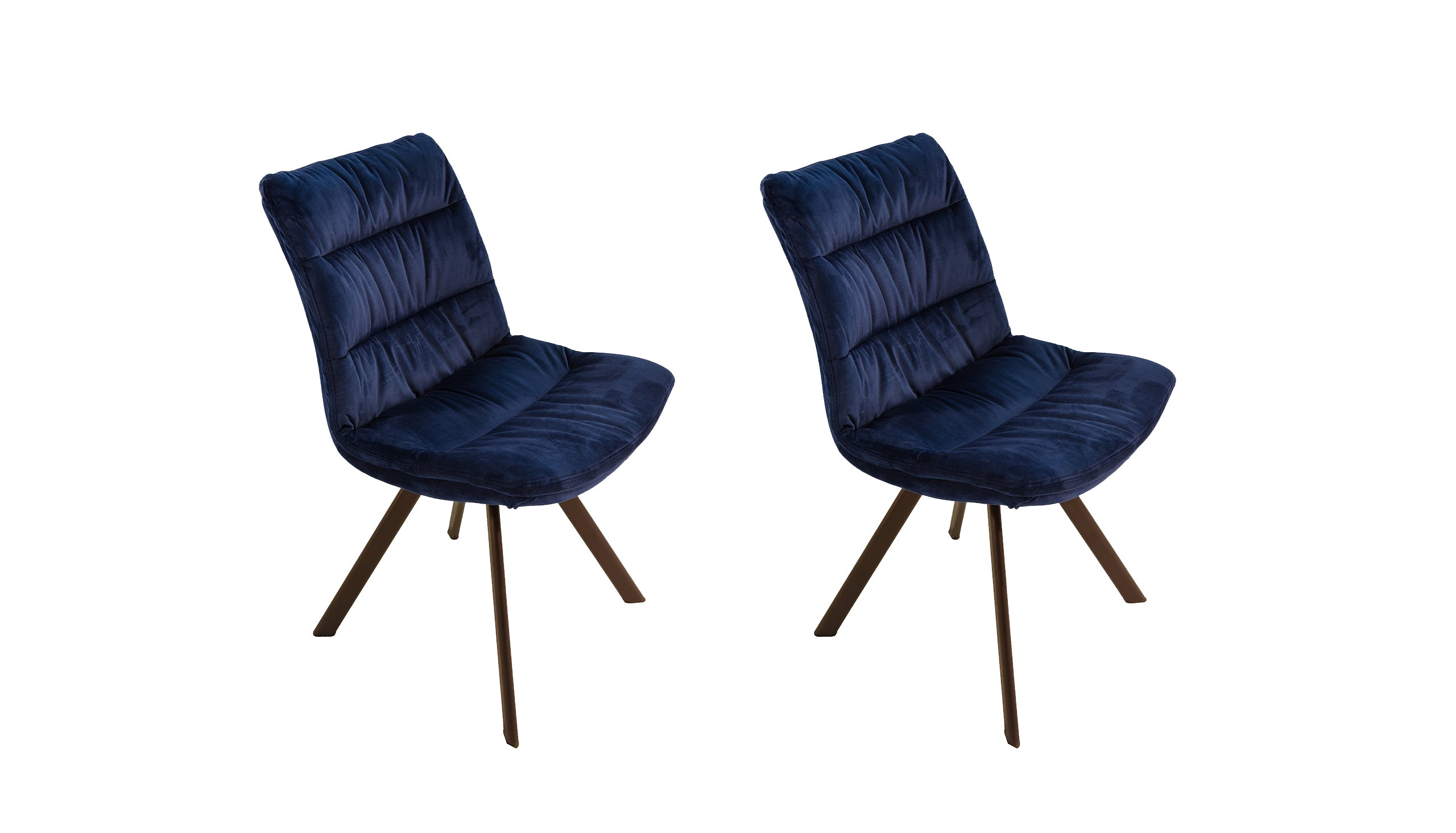 Pair of Brooklyn Velvet Dining Chairs