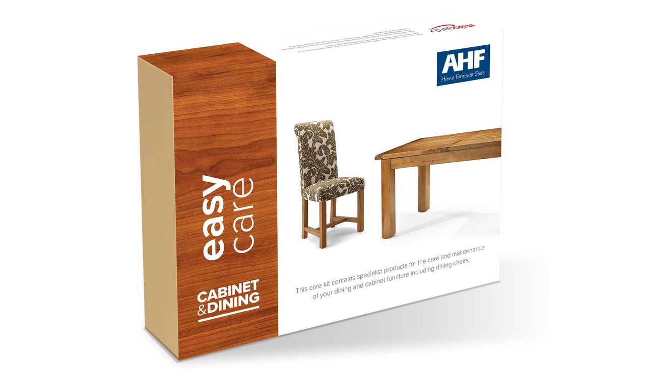 Wooden Furniture Care Kit with Fabric Chairs