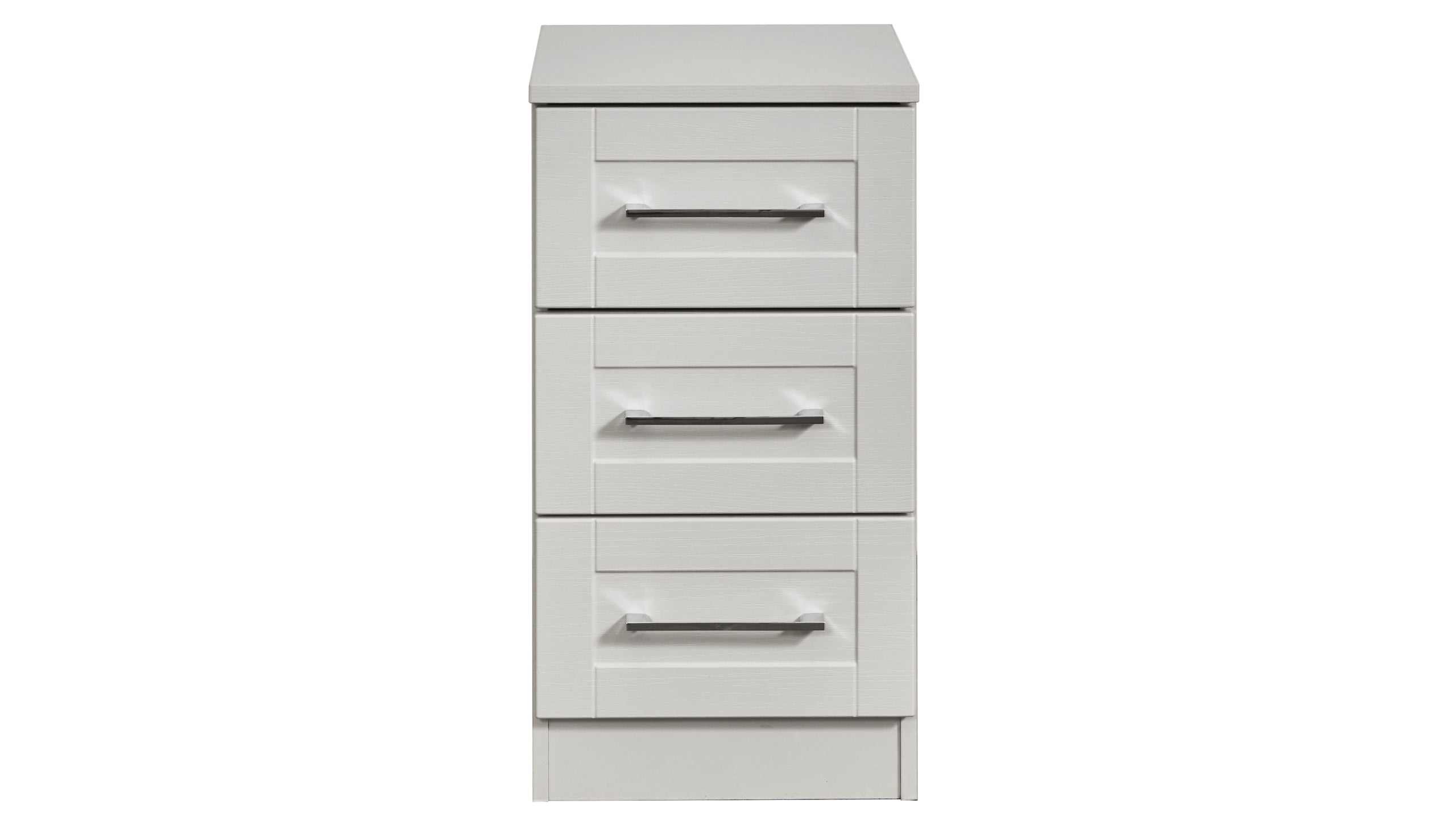 Porter 3 Drawer Bedside Chest - AHF Furniture & Carpets