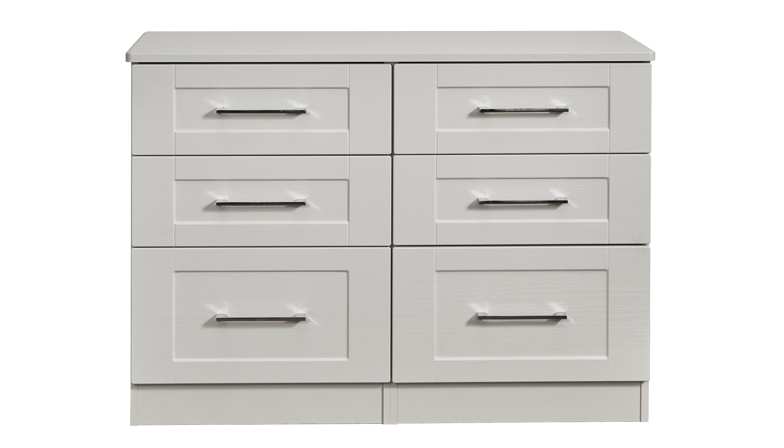 Porter 6 Drawer Midi Chest - AHF Furniture & Carpets