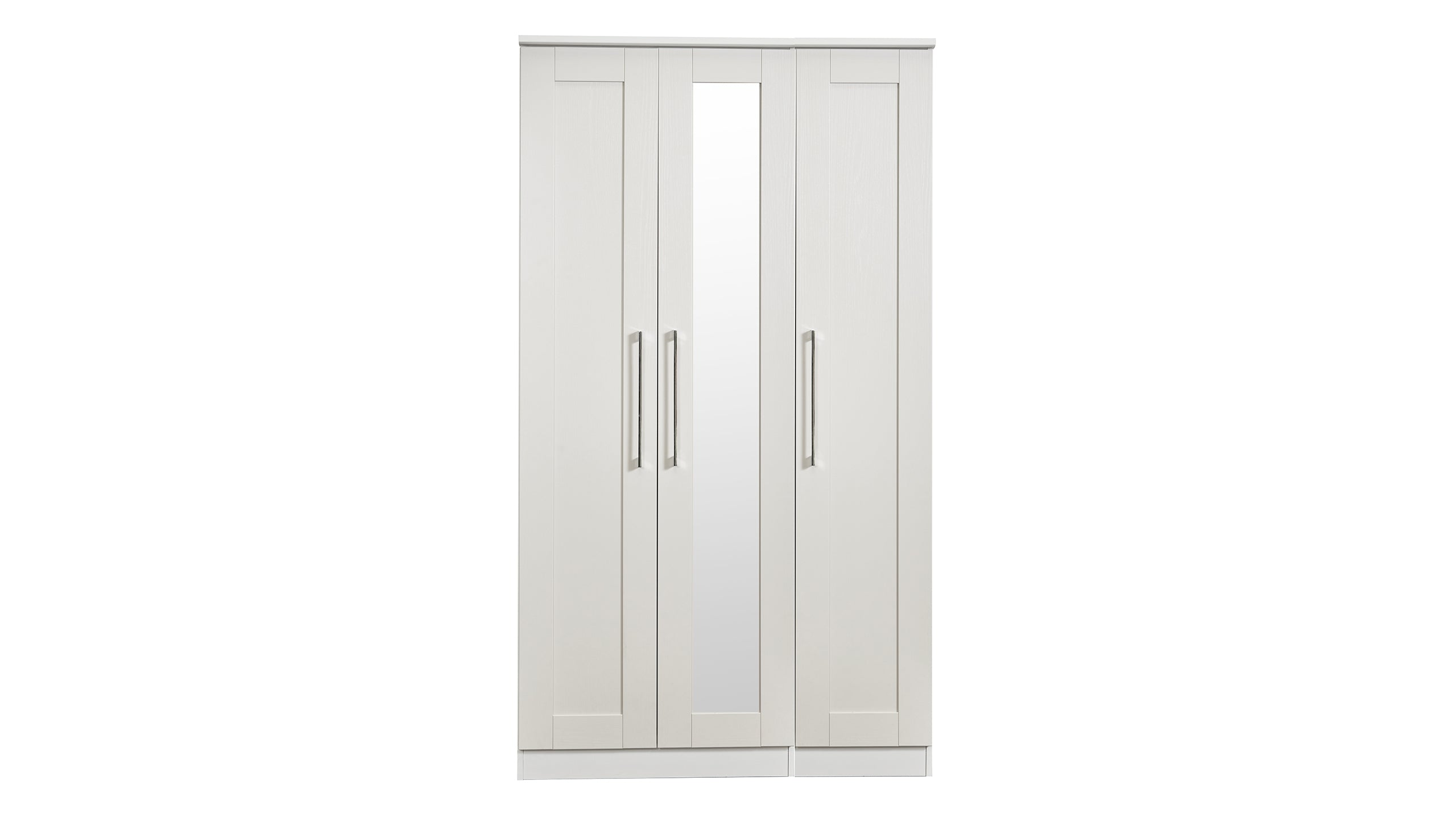 Porter 3 Door 1 Mirror Wardrobe - AHF Furniture & Carpets