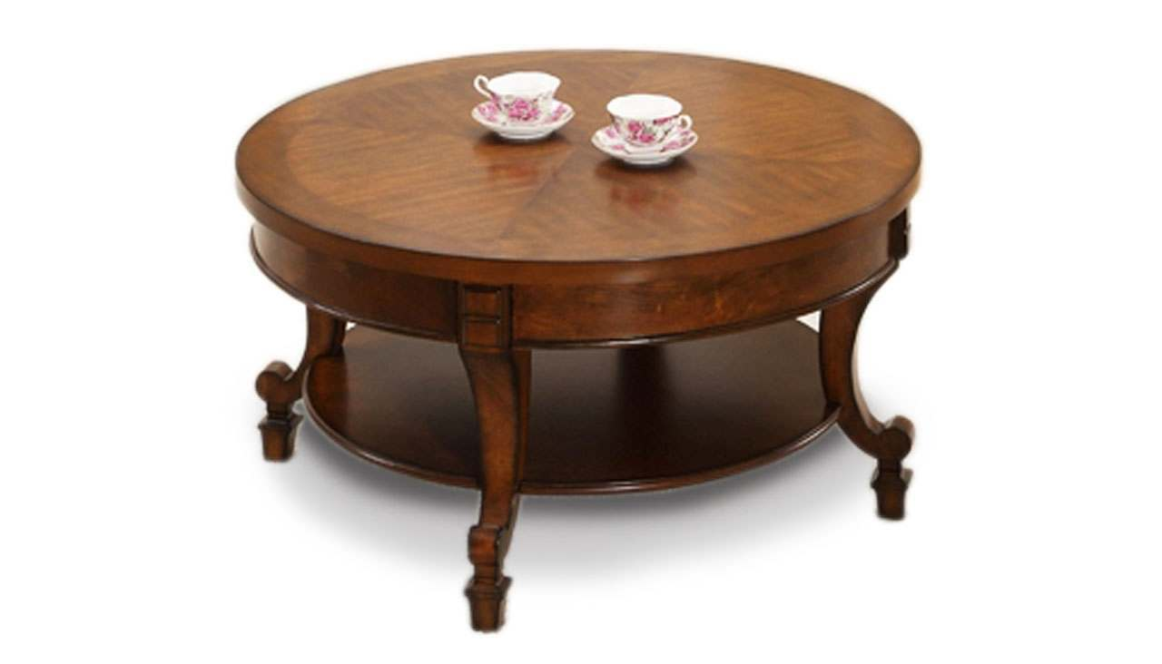York Circular Coffee Table - AHF Furniture & Carpets