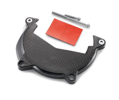 KTM 61330986044 CARBON CLUTCH COVER PROTECTION CPL.