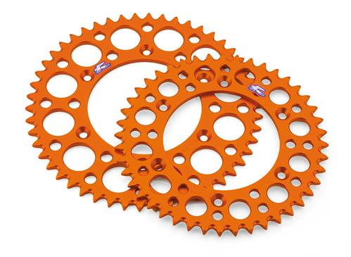 KTM U6951070 ORANGE REAR SPROCKET 50T