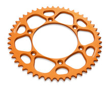 Load image into Gallery viewer, KTM 7771095105204 52T REAR SPROCKET ORANGE ANODIZED