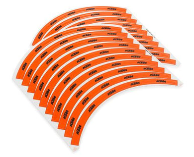 KTM 78009099000 RIM STICKER SET