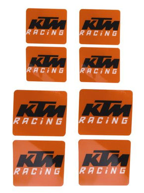 KTM U6951087 WHEEL HUB DECAL KIT 8 PCS.