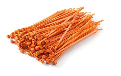 KTM U6951130 ORANGE CABLE TIES 100PK