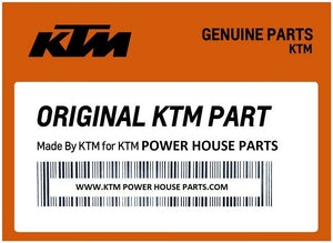KTM UPW1770524 24 KTM DECAL WHT""