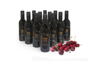 Case of Ruby's Gold Fortified Cherry Wine 12 x 375ml bottles - FreshFruit