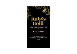 Three bottles of award-winning Ruby's Gold Fortified Cherry Wine - with free delivery - FreshFruit Ltd
