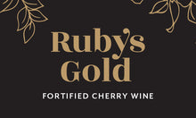 Load image into Gallery viewer, Two bottles of award-winning Ruby's Gold Fortified Cherry Wine - FreshFruit Ltd