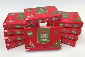 10 x 100g Boxes of Dried Cherries - ideal as a snack on the go - FreshFruit