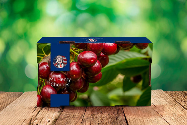2Kg box of fresh Mr Henry Cherries imported direct from the USA!