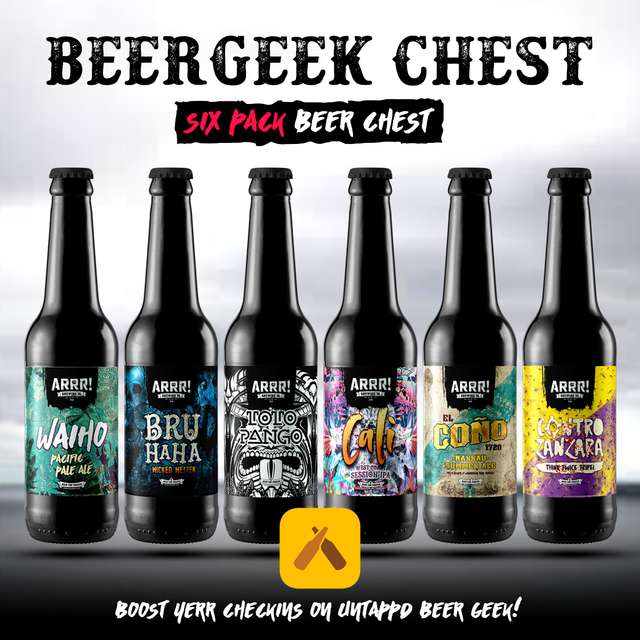ARRR BEERGEEK CHEST - SIXPACK - ARRR! Brewing Co.