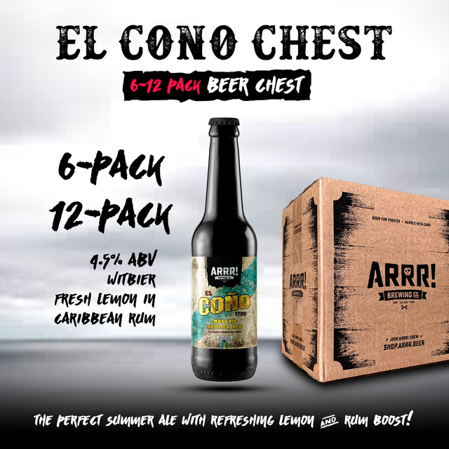 ARRR El Coño Beerchest - ARRR! Brewing Co.