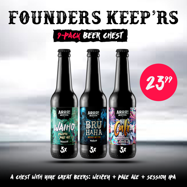 ARRR Founders' Keeprs Chest - ARRR! Brewing Co.