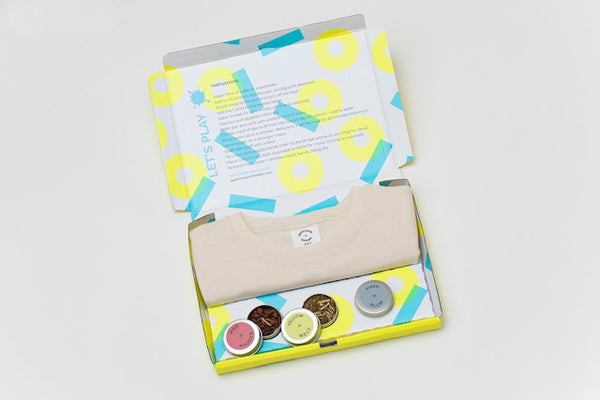 Tie Dye Organic Cotton T-Shirt Kit