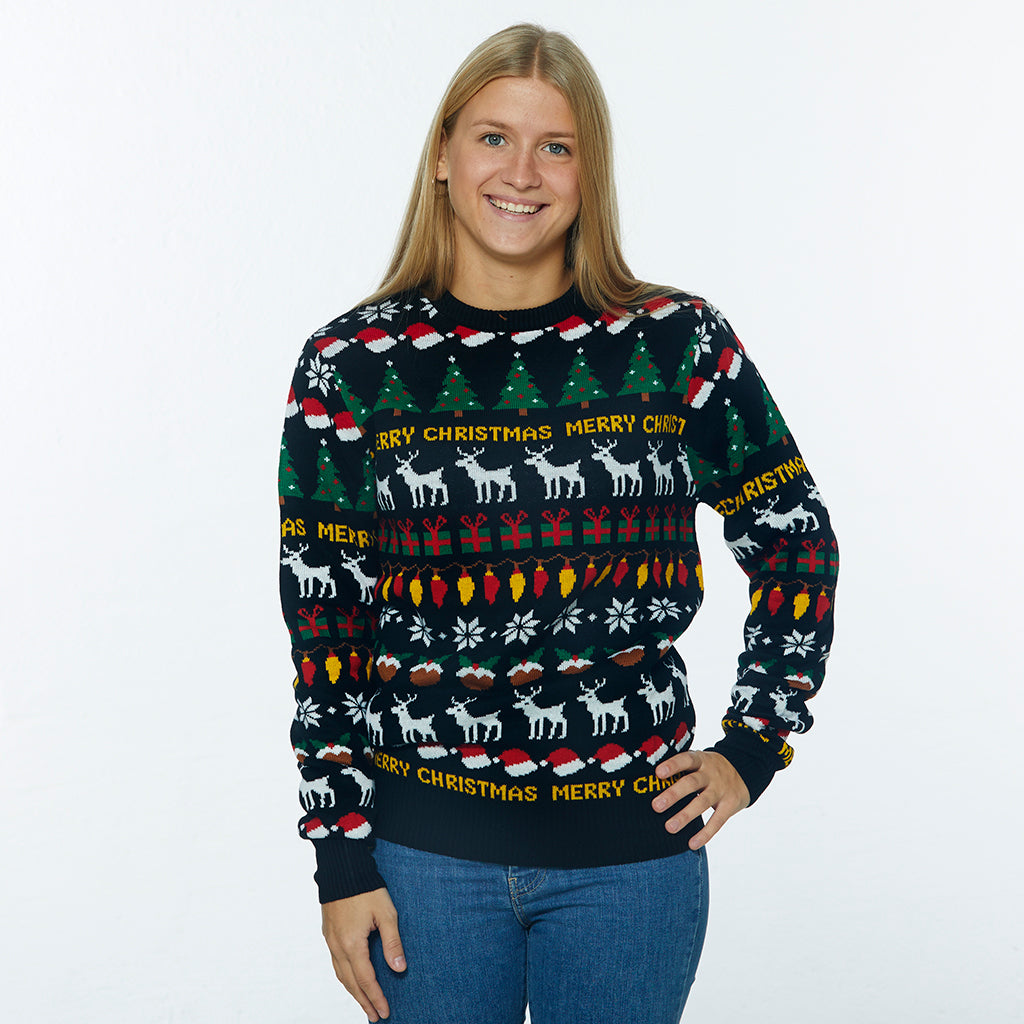 The Festive Christmas Sweater