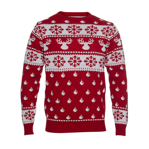 The Classic Christmas Sweater - red