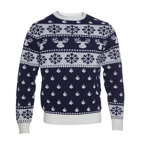 The Classic Christmas Sweater - blue