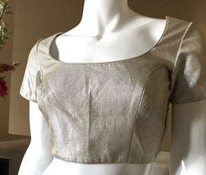 Antique Silver blouse