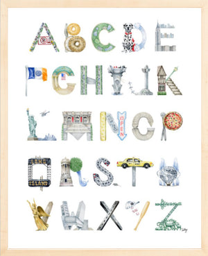 New York City Alphabet